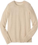 Openweave Crewneck Sweater
