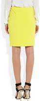 Chalayan Cotton-blend pencil skirt