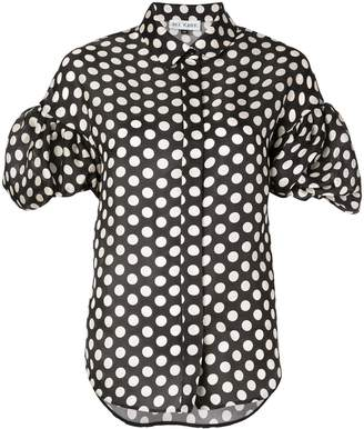Dice Kayek polka dot blouse