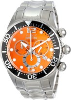 Invicta Men's 14198 Lupah Chronograph Dial Stainless Steel Watch