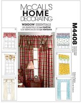 Mccall's M4408 Window Essentials (Valances and Panels), All Sizes