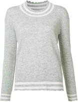 RtA Charlotte Cashmere Sweater - Grey