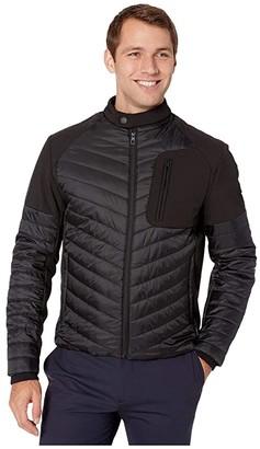 Tumi Softshell Hybrid Jacket (Black) Men's Coat
