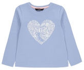 George Patterned Heart Long Sleeve Top