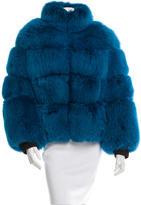 Jean Paul Gaultier Fox Zipped Jacket