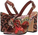 Etro Block Heel Sandal