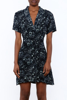 Knot Sisters Floral Button Down Dress
