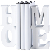 Torre & Tagus Home Word Art Bookends (Set of 2)