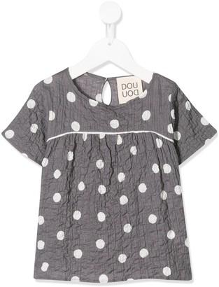 Douuod Kids Polka Dot Shirt