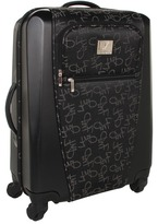 Diane von Furstenberg Signature Hybrid - 20 Spinner Carry-On (Black) - Bags and Luggage