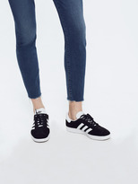 Mother High Waisted Looker Ankle Fray - Faster