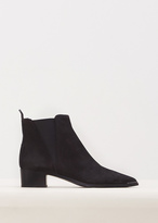 Acne Studios Black Jensen Suede Ankle Boot