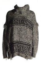 Kensie Women's Fuzzy Mixed-Media Sweater