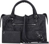 Balenciaga Classic Silver City Bag