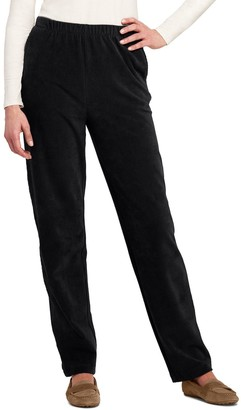 Lands' End Women's Sport High-Rise Corduroy Pull-On Pants