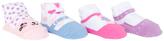 Cutie Pie Baby Light Pink Cat & Pink Hearts Four-Pair Socks Set