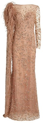 ZUHAIR MURAD Coddy Embellished Gown