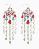 Charming charlie Cascading Color Chandelier Earrings