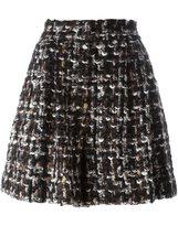 Dolce & Gabbana bouclé a-line shorts