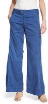 XCVI Hayden Wide-Leg Pants, Indigo