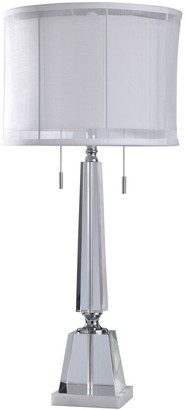 Stylecraft Kingston Chrome Finish Table Lamp