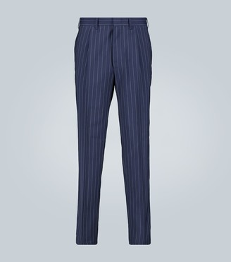 The Gigi Tonga pinstripe tapered pants