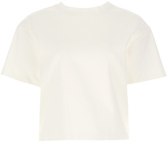 Area Crystal Heart Cut-Out T-Shirt