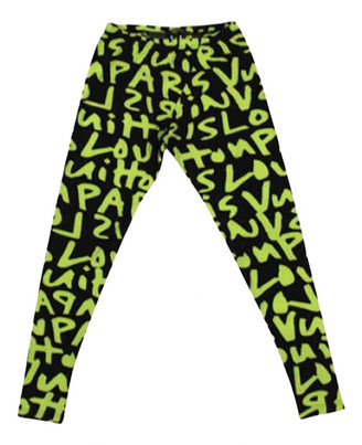 Louis Vuitton Green Cotton Trousers