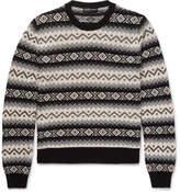 Alexander McQueen Fair Isle Cashmere Sweater