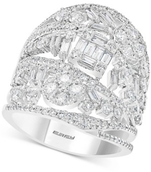 Effy Limited Edition! Diamond Tiara Statement Ring (2-1/2 ct. t.w.) in 14k White Gold