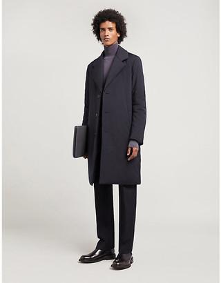 Bottega Veneta Notch-lapel shell-down coat