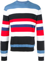 Christian Dada striped knit sweater - men - Cotton - 44