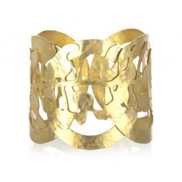 Wendy Mink Gold Leaf Cuff