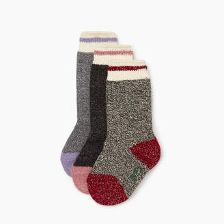 Roots Kid Girl Sparkle Cabin Sock 3 Pack