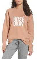 Women's Brunette The Label Rose Okay Sweatshirt