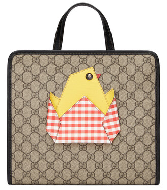 Gucci Children's GG tote bag with chick