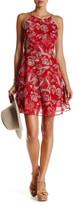 Lucy Paris Cara Floral Mini Trapeze Dress