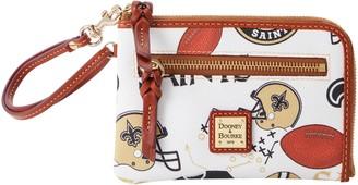 Dooney & Bourke NFL Saints Multi Function Zip Around