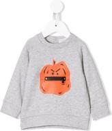 Stella McCartney pumpkin print sweatshirt