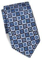Burma Bibas Square-Print Silk Tie