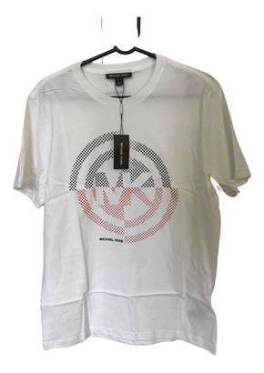 Michael Kors White Cotton T-shirts