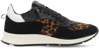 Philippe Model Montecarlo Leather Sneakers