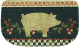 "Bacova Kitchen, Retro Pig 18"" x 30"" Memory Foam Rug"