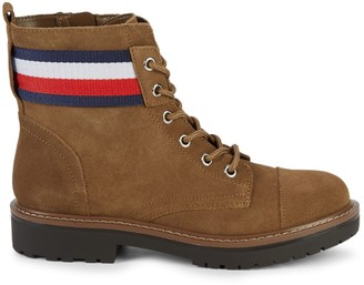 Tommy Hilfiger Lavo Striped Booties