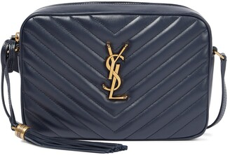 Saint Laurent Lou Camera leather crossbody bag