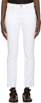 Etoile Isabel Marant White Two-Tone Haven Jeans
