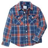 Joe's Jeans Plaid Twill Shirt (Little Boys)