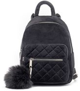 Candies Candie's® Velvet Quilted Mini Backpack