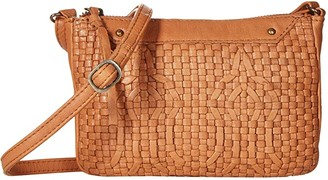 Day & Mood Smilla Crossbody (Cognac) Handbags
