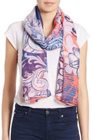 Lord & Taylor Pop Art Scarf